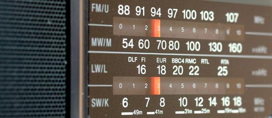 Radio Frequenzanzeige
